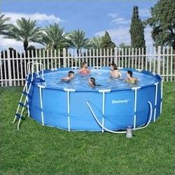 bestway opzet zwembad