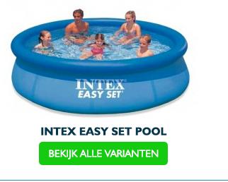 Intex easy set zwembad