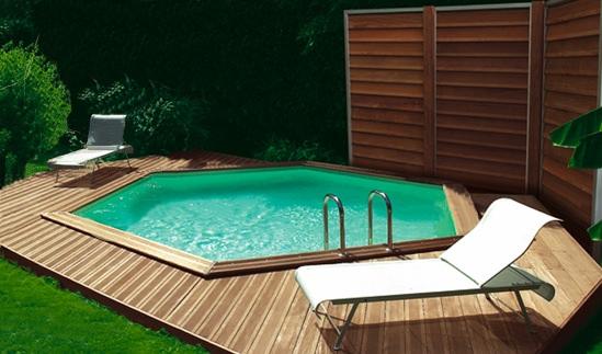 houten interline zwembad
