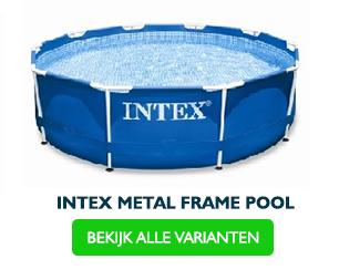 Rond frame pool Intex