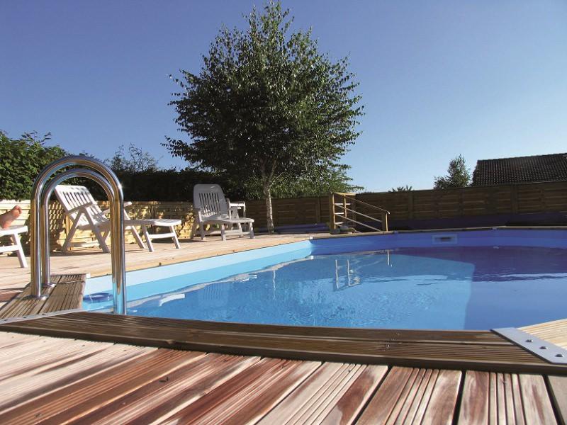 Goedkoop houten inbouwzwembad