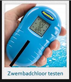 chloor zwembad testen